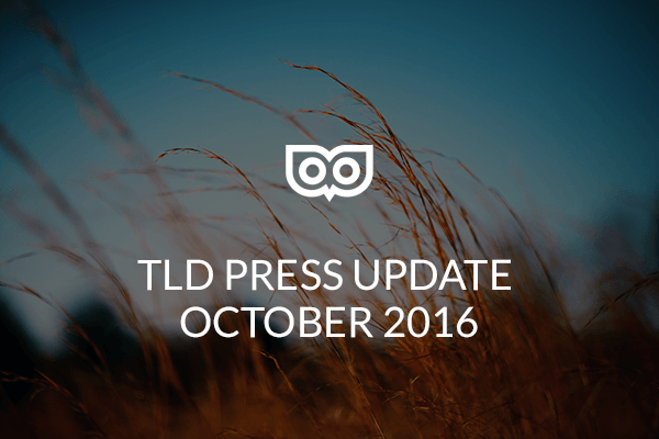 TLD Press Update 2016