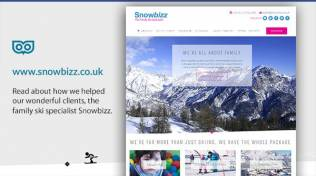 Our wonderful client Snowbizz