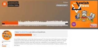 Jewish Views - Podcast interview - online hatred
