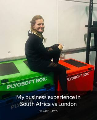 Kate Hayes on her business here vs in South Africa