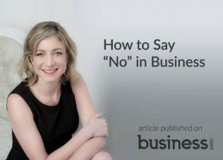 How to say no in business - TLD in the press - business.com