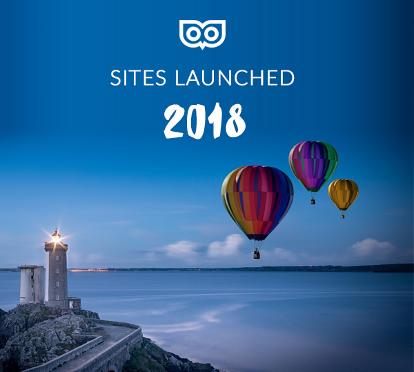 Sites Top Left Design launched in 2018