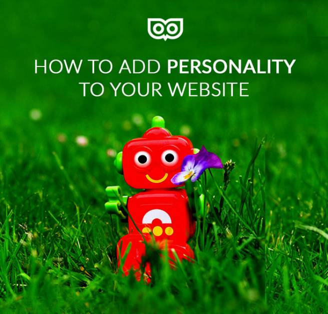 How to add personality to your website!