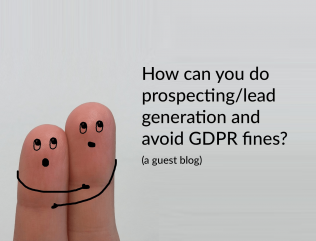 Prospecting and sales after GDPR