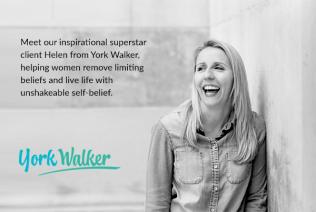 Helen Walker - inspirational superstar client