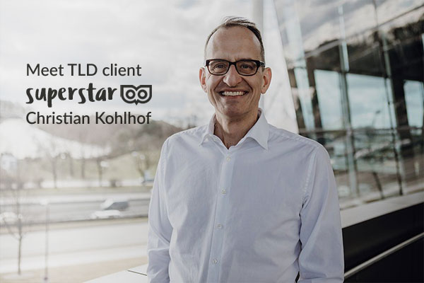Meet our amazing superstar client, Christian Kohlhof – with interview!