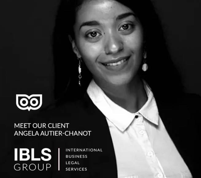 Meet our wonderful client Angela Autier-Chanot