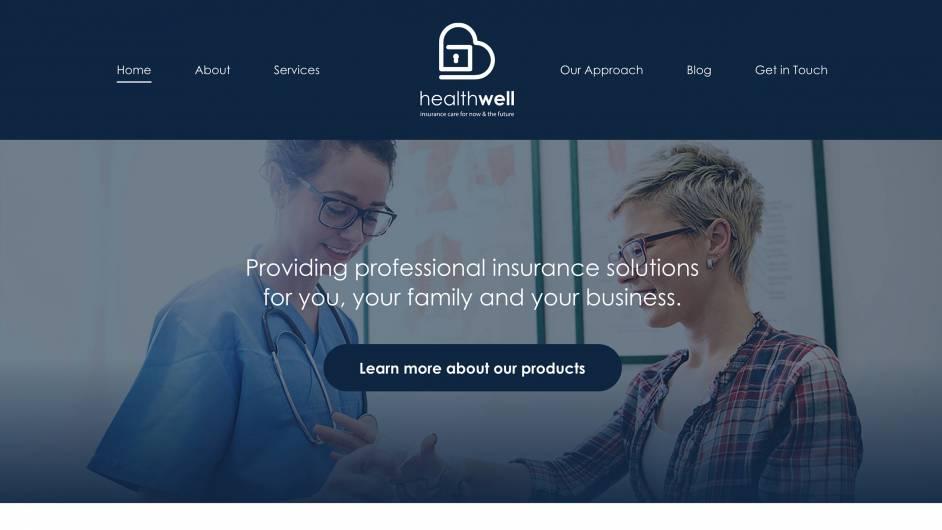 Health Well Solutions desktop