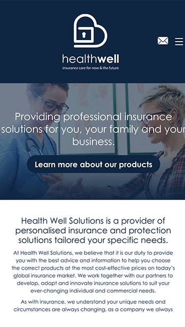 Health Well Solutions mobile