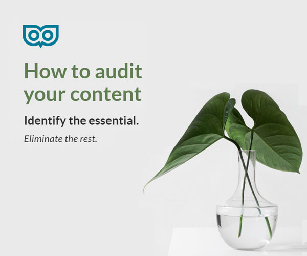 How to audit your content