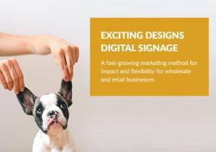 Design for digital signage