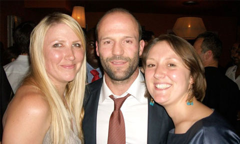 Tamlyn, Tina, and Jason Statham