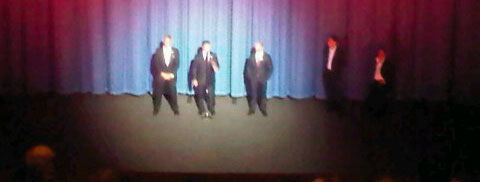 Stallone, Statham and Lundgren take the stage