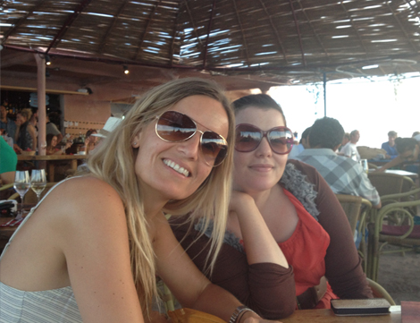 Ibiza - Alicia Cowan and Tamsin Fox-Davies