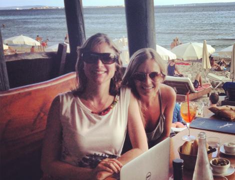 Ibiza - Keren Lerner and Alicia Cowan