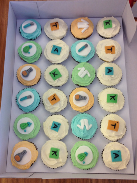 Cupcakes from the event