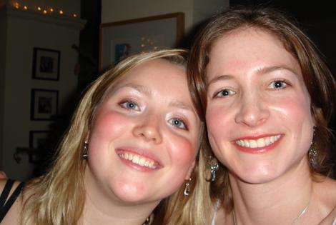 Alicia and Keren