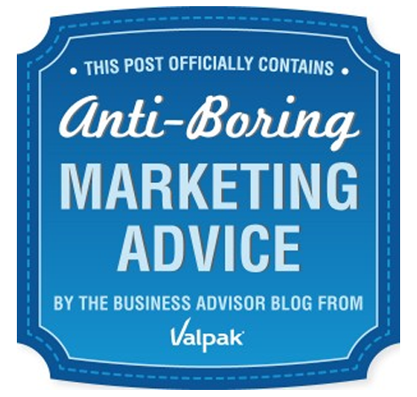 Anti Boring Marketing Advice