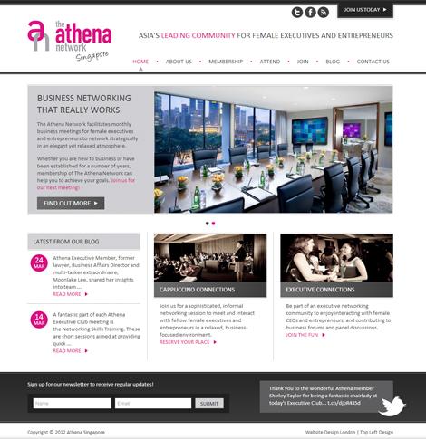 The Athena Network Singapore