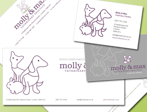 Molly & Max Stationary