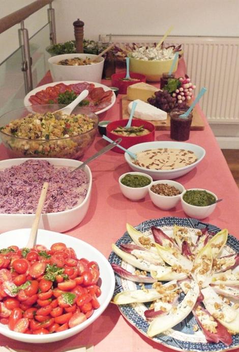The food at our seminar