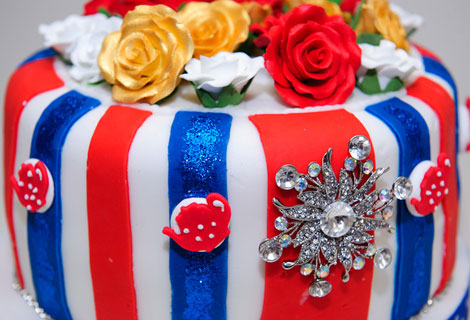 Cakehole London - British royal cake to celebrate Kate and Will's wedding