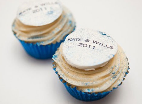Kate and William cupcakes