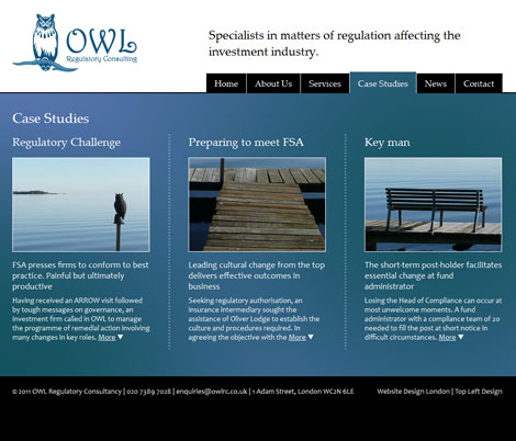 OWL - case studies page