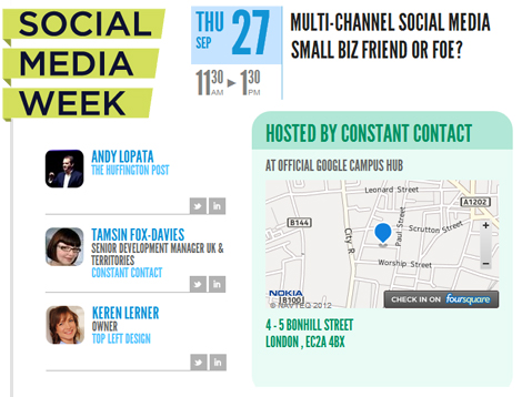 Constant Contact - Multi Channel Social Media - Friend or Foe?