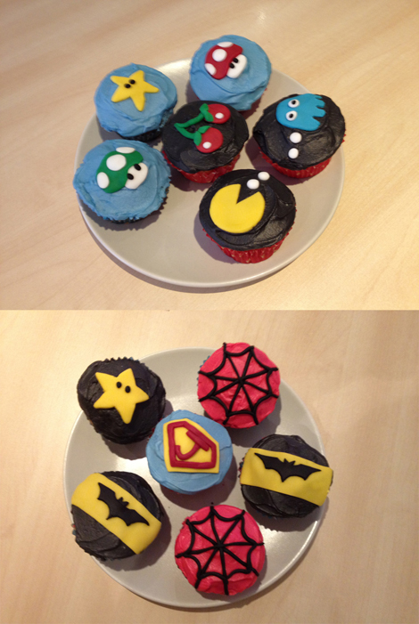 Geek Appreciation Day - cupcakes