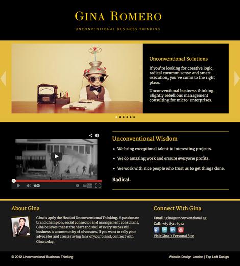 Gina Romero Unconventional Business Thinking