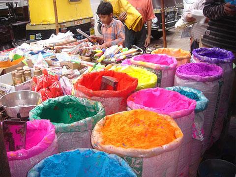 Holi paint