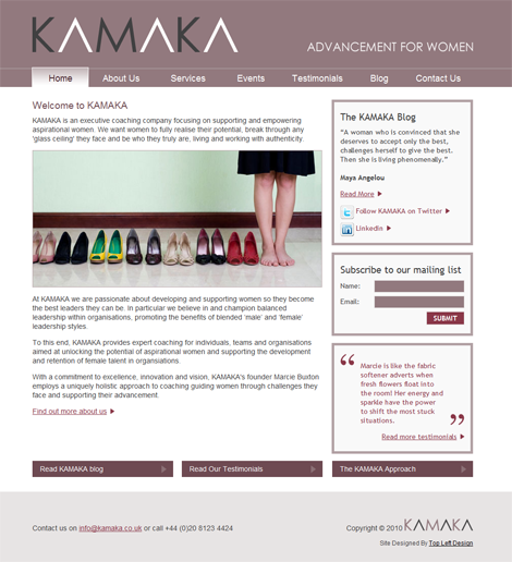 Kamaka Executive Coaching for Women