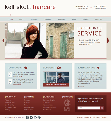 Kell Skott Haircare
