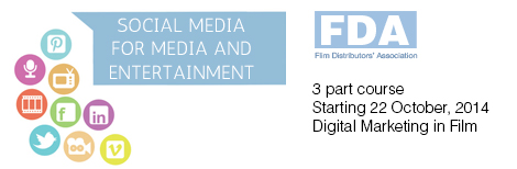 Keren Lerner is running the first of 3 digital marketing sessions for senior film distributors at the Flim Distributors' Association -  on digital marketing