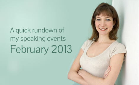 Keren Speaks - a rundown for February 2013