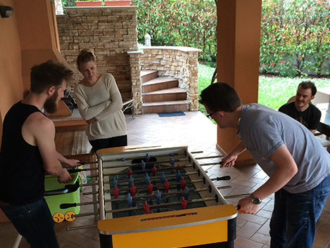 TLD in Lake Garda - fusball