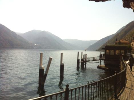 Lake Como - the lake