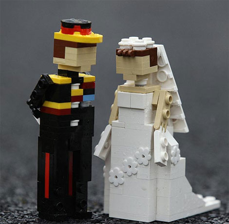 Lego Land Royal Wedding