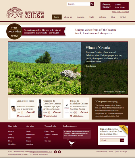 Mountain Valley Wines