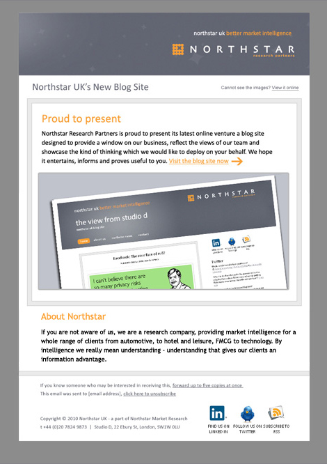 Northstar newsletter