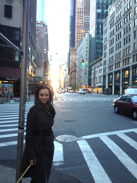 Abbie in Manhattan