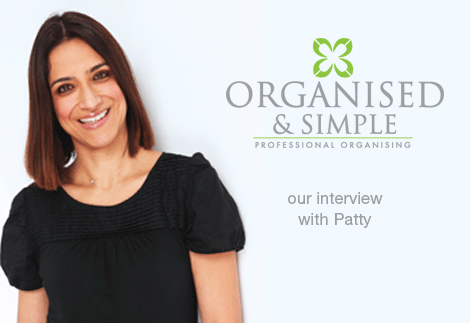 Organised and Simple - our interview with Patty