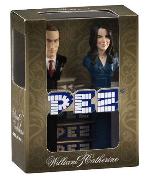 Royal Wedding - William and Catherine Pez Dispensers