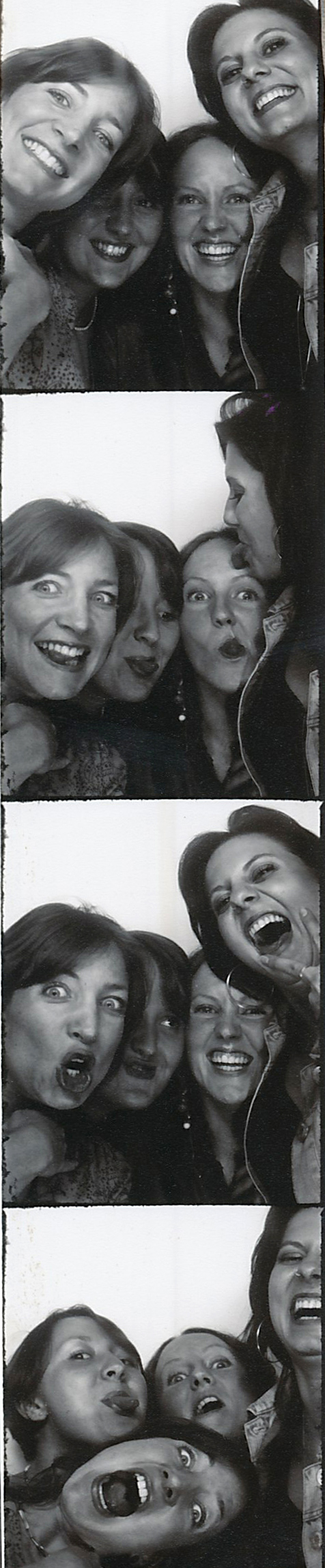 Top Left Design in a Photo Booth