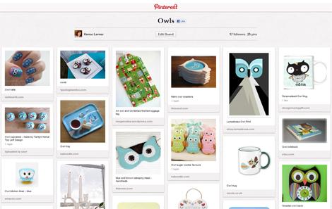 Keren Lerner's Pinterest board - Owls