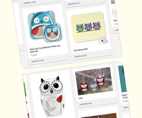 "Tina Webster Illustration blog's about our ""Owls"" Pinterest board"