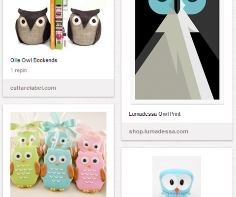 "Images from Keren's ""Owls"" Pinterest board"