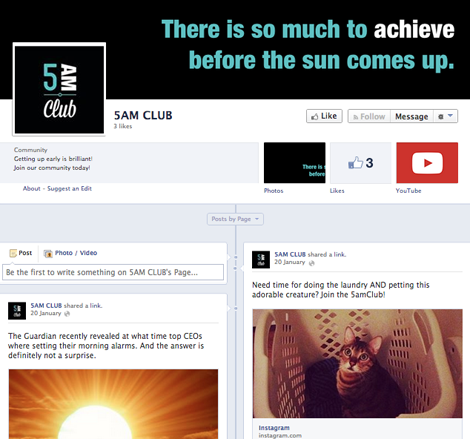 The 5am Club - Facebook page
