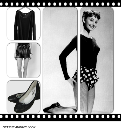 Get the Audrey Hepburn look - Pinterest